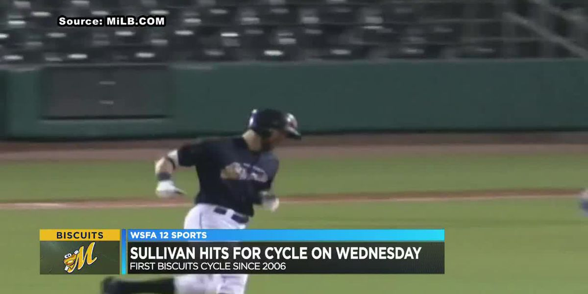 Biscuits' Sullivan hits for cycle