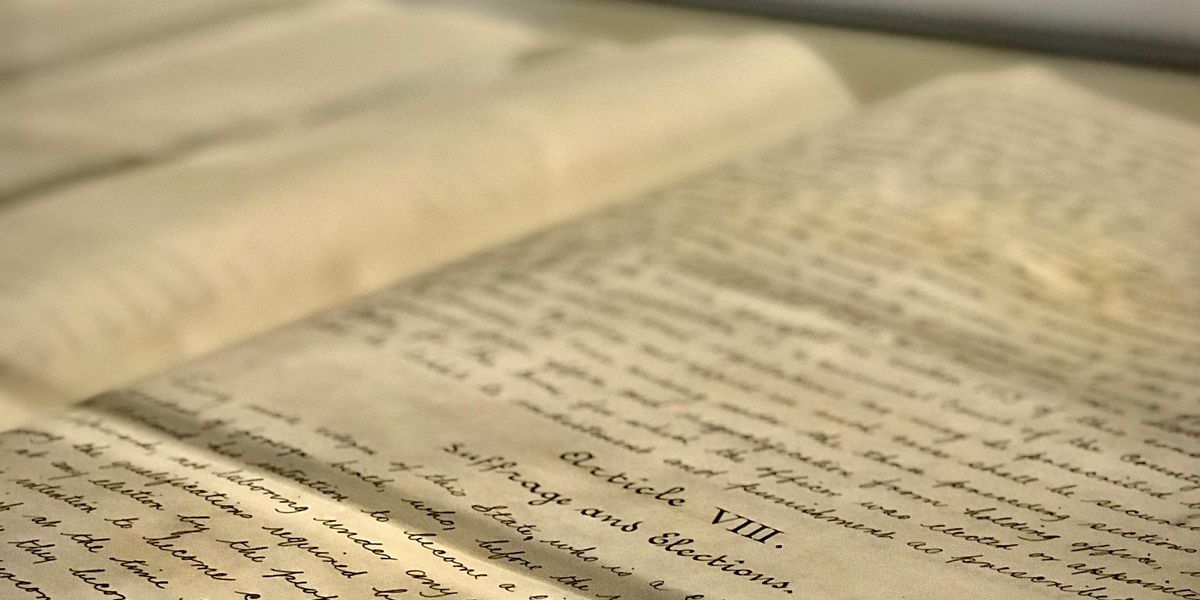 6 Alabama constitutions on display for bicentennial celebration