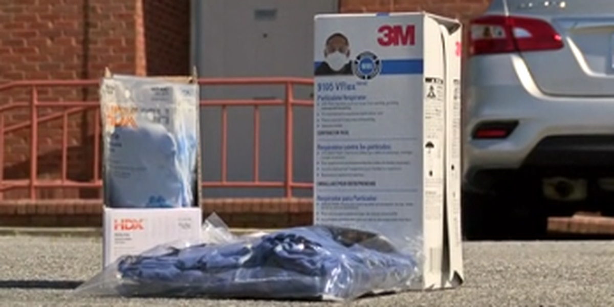 Smiths Station donates PPE to first responders in Phenix City and Columbus