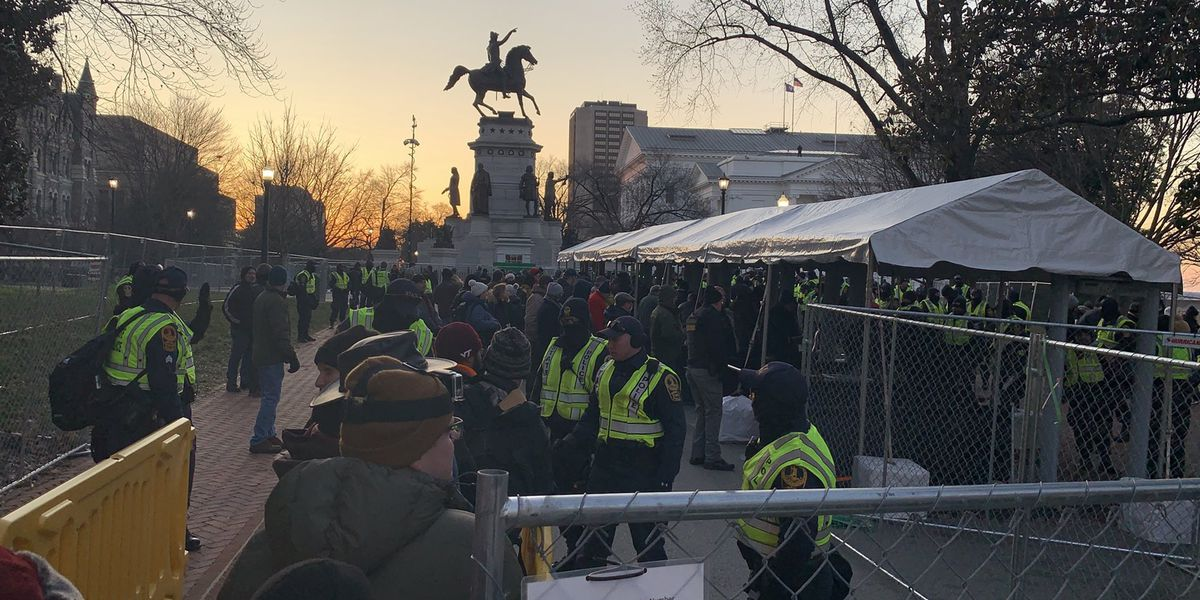 Live Updates: No arrests made in gun-rights rally; Capitol Square now empited out