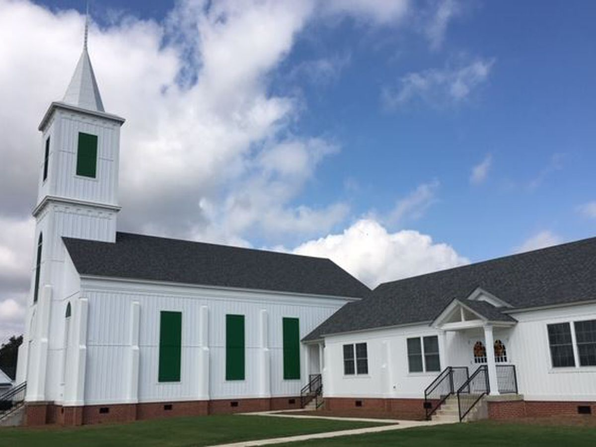 First Presbyterian Church in Wetumpka rebuilt
