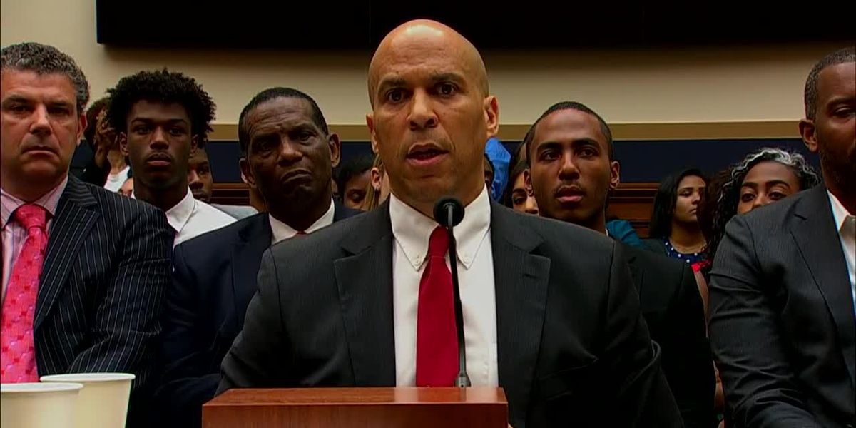 Booker: Nation fraught with 'persistent inequalities'