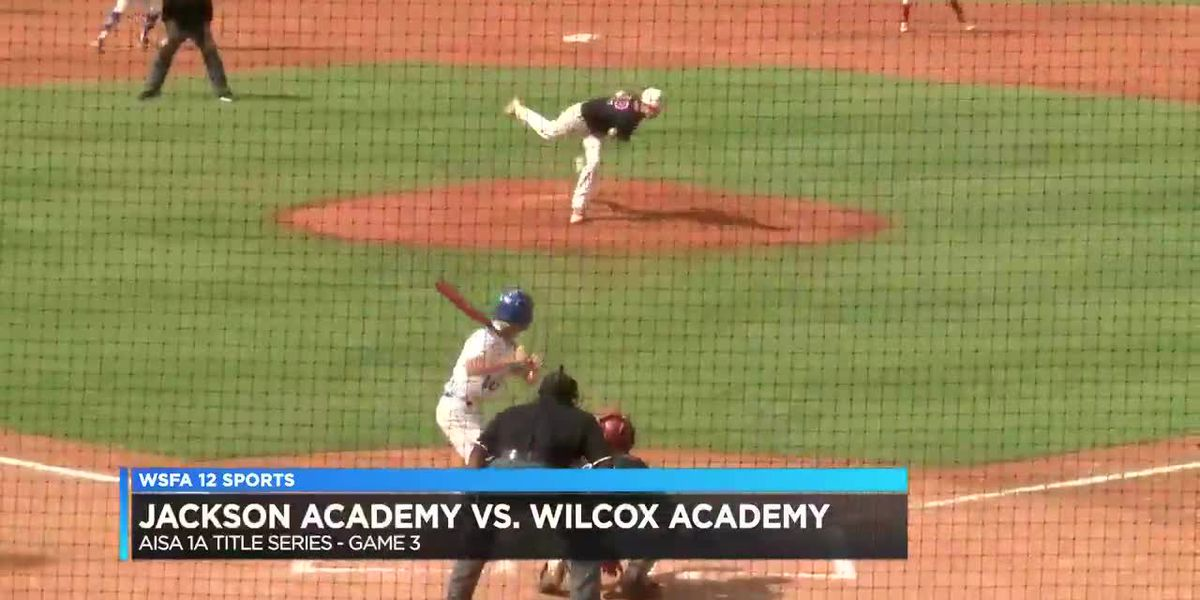 Jackson Academy, Wilcox Academy square off in Game 3 of AISA 1A title