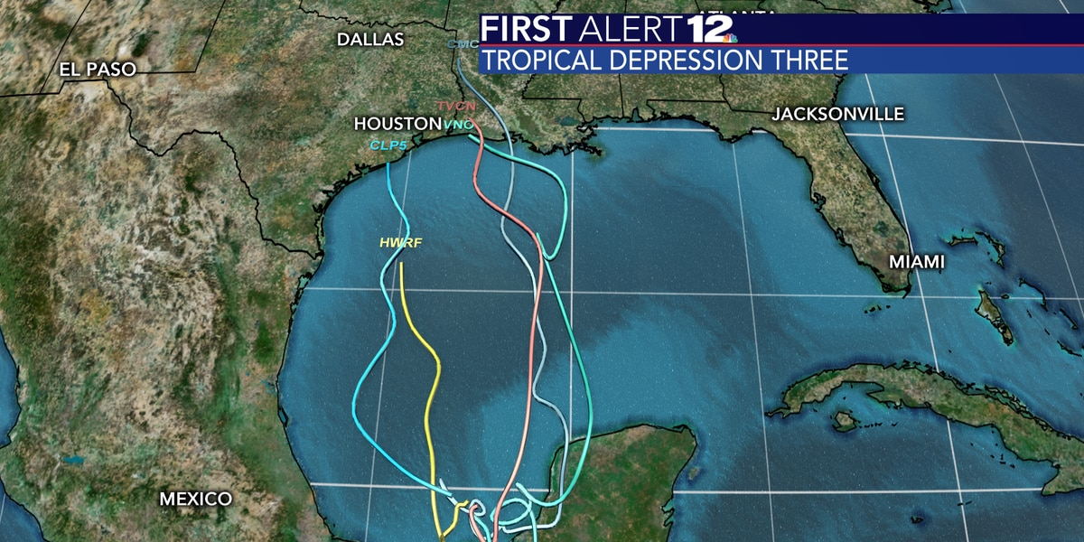 Tropical Storm Cristobal has formed, becomes third named system this season
