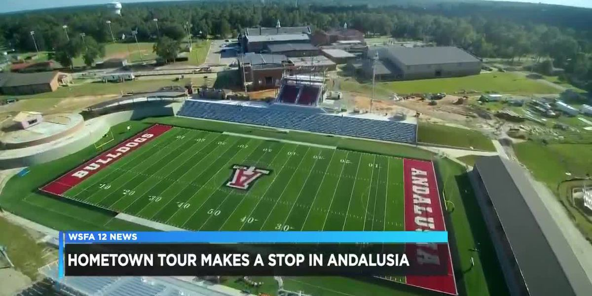 Hometown Tour makes a stop in Andalusia