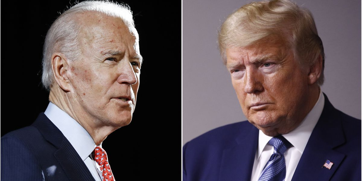 Trump, Biden push into crucial first 2020 campaign face-off