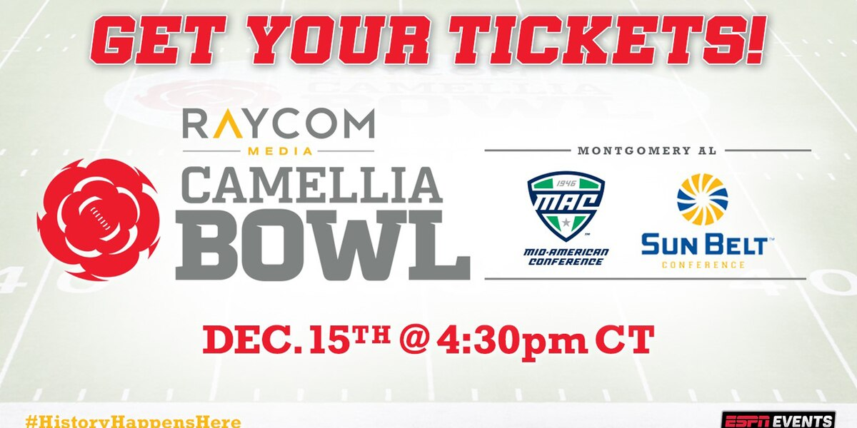 Players, fans will be busy during Raycom Media Camellia Bowl week