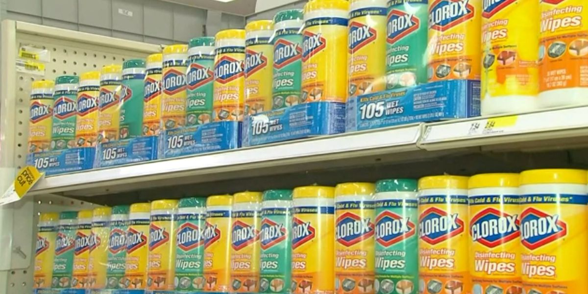 CDC says you can ease up on disinfectants