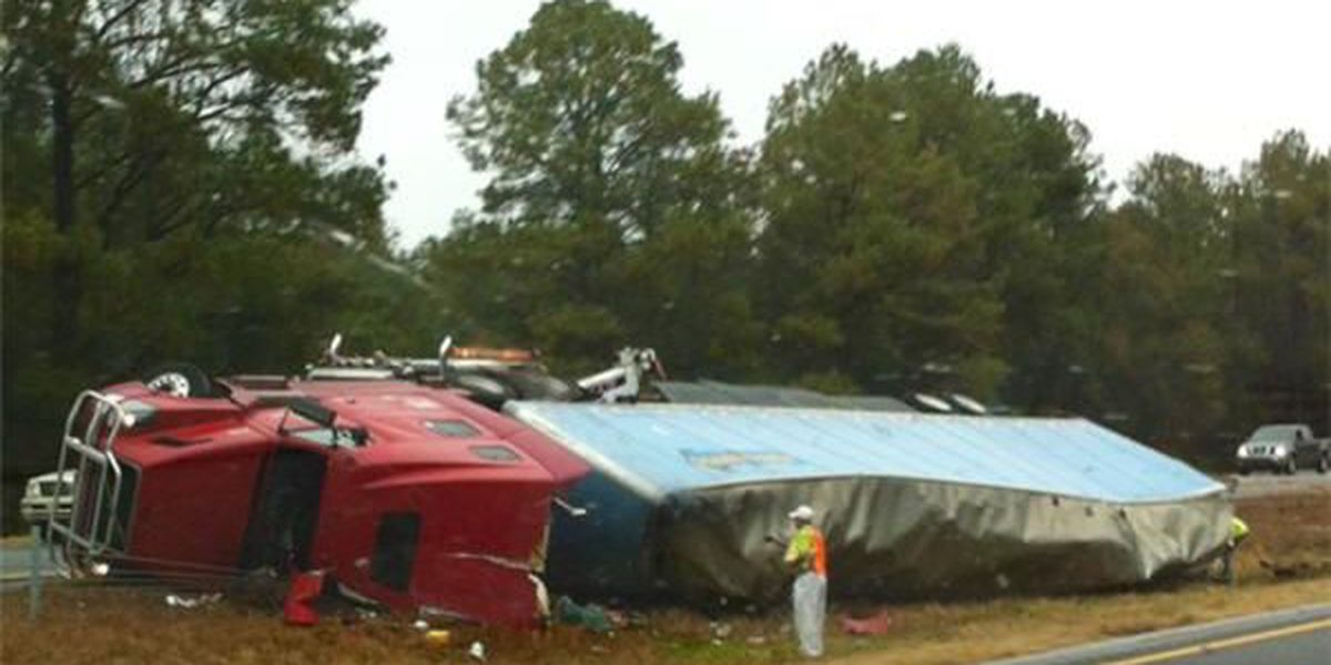 Alabama State Troopers work several crashes over the weekend