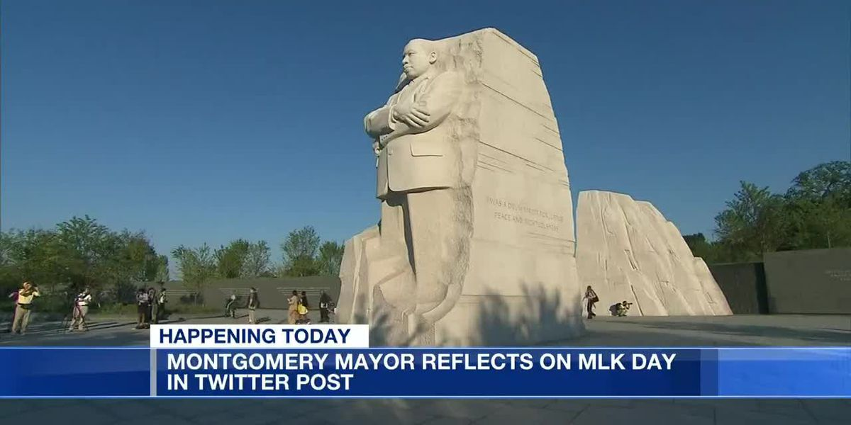 Montgomery mayors reflect on MLK Day
