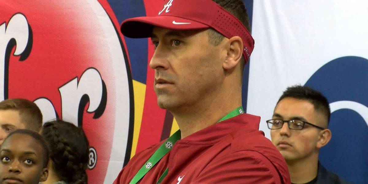 Steve Sarkisian returns as Alabama's offensive coordinator