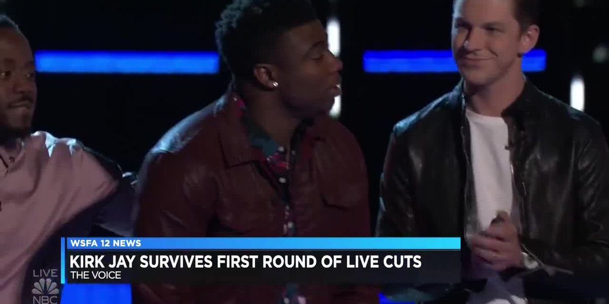 Montgomery's Kirk Jay makes it to 'The Voice' Top 13