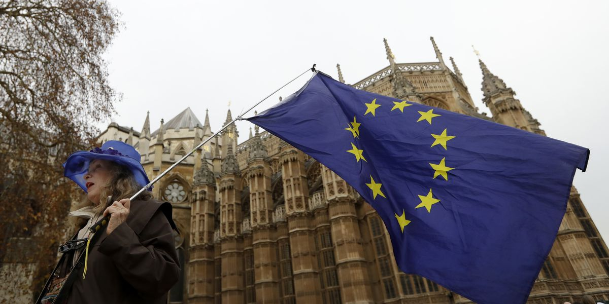 UK's key services sector barely growing amid Brexit concern