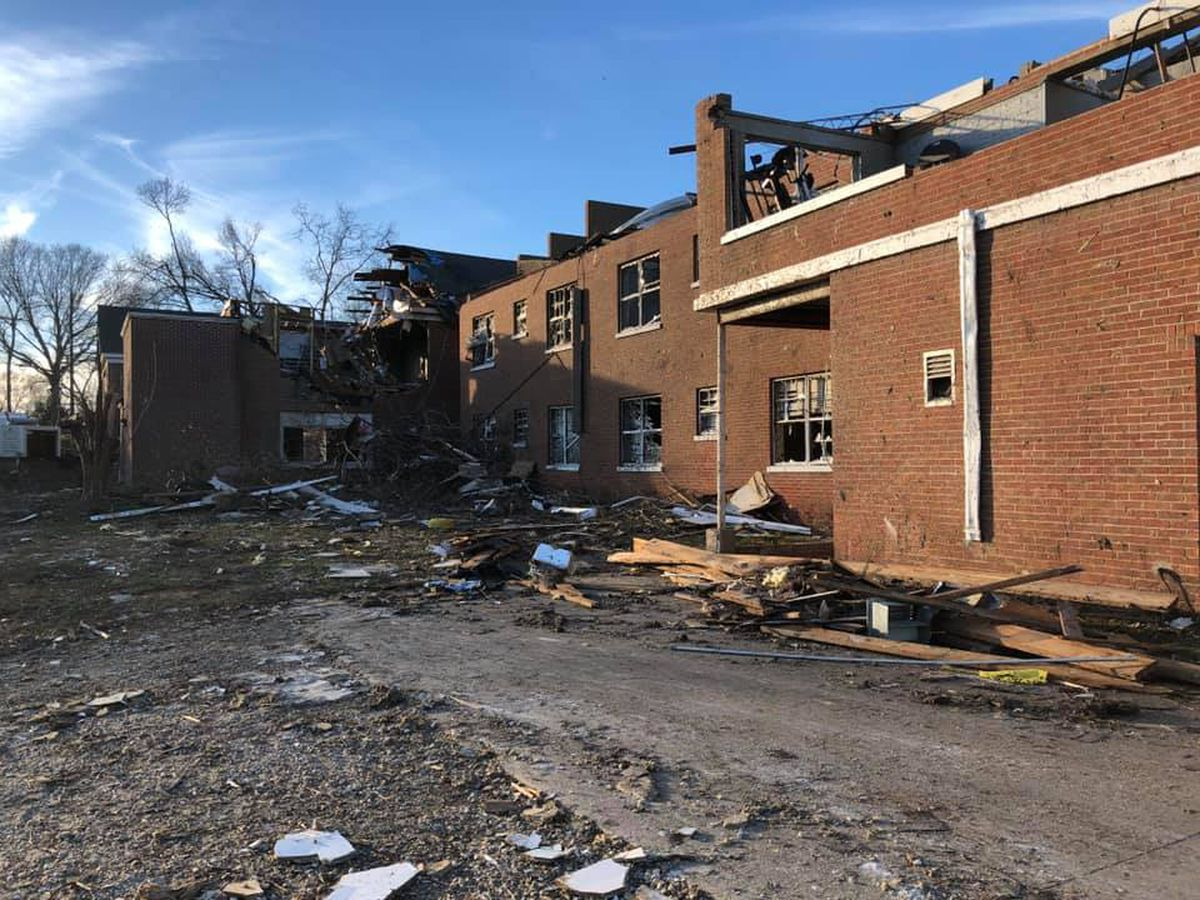 Wetumpka Police Department destroyed by Saturday's tornado