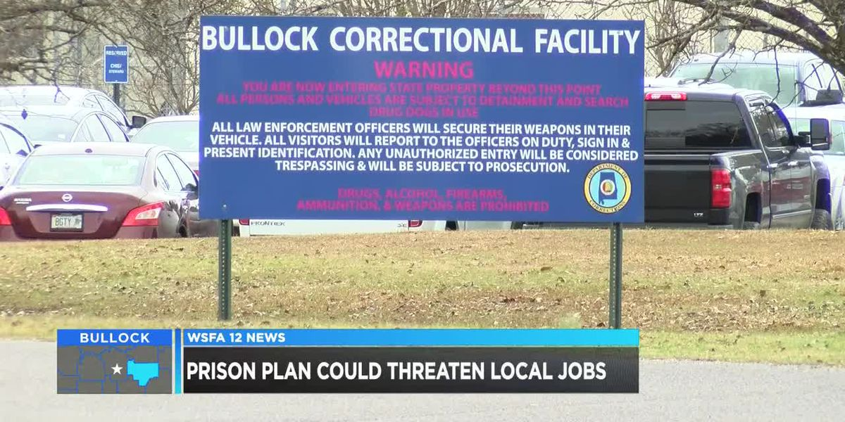 Prison plan could threaten jobs in Bullock County