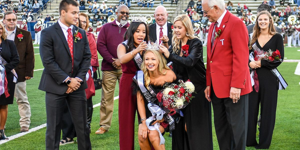 Troy University student from Enterprise crowned homecoming queen