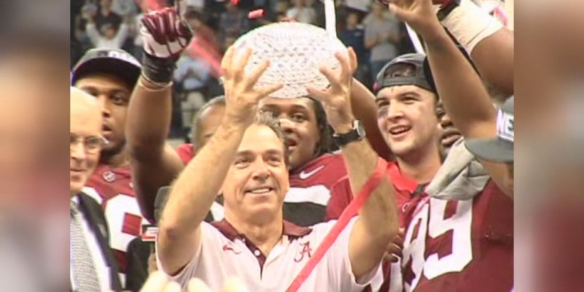 Nick Saban on the verge of making history