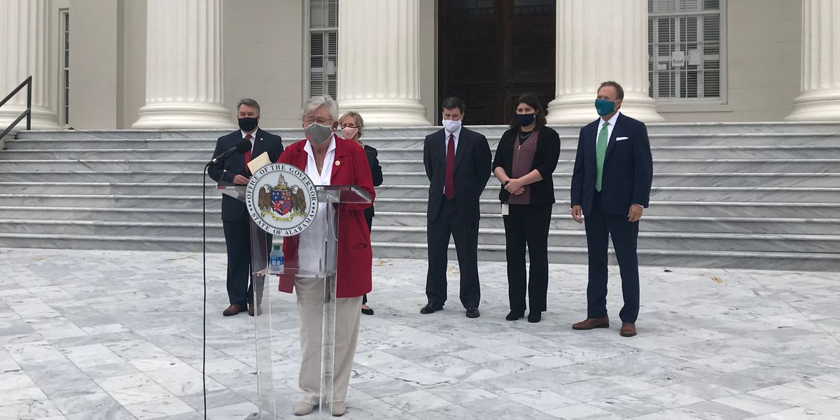 Gov. Ivey announces locations of mental health crisis centers