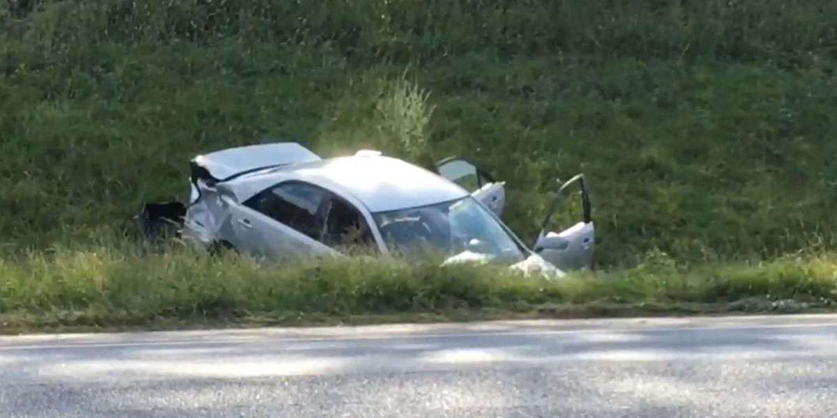 Police chase from Calera ends with crash near Prattville
