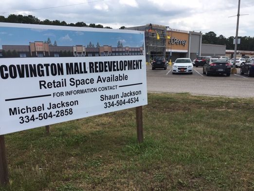 Covington Mall in Andalusia getting a facelift