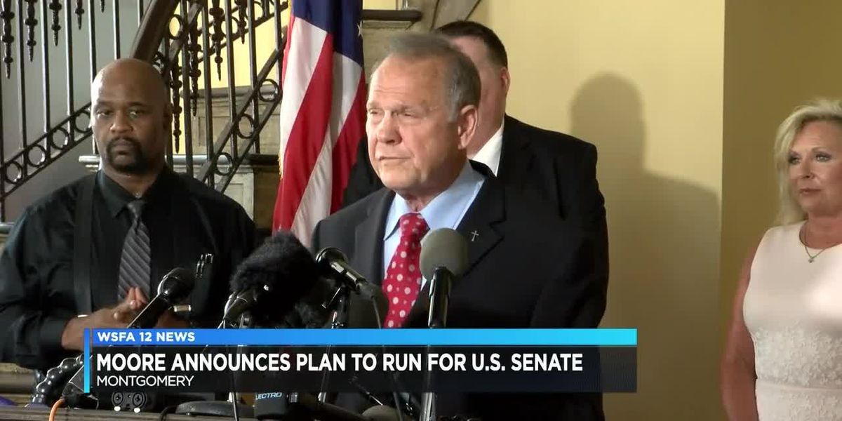 Roy Moore announces U.S. Senate bid
