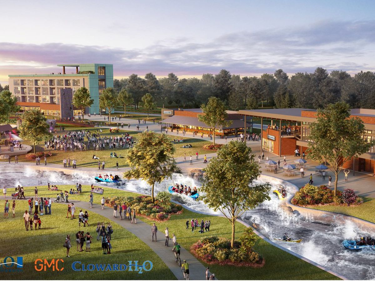 Construction of whitewater park on track to begin in late 2020