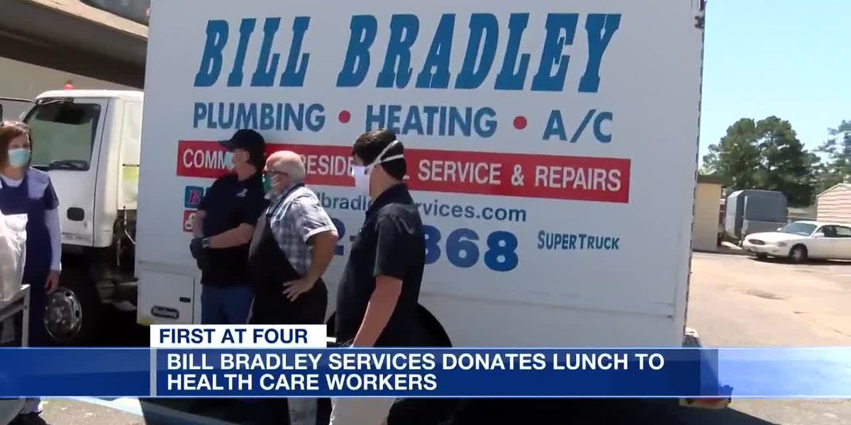 Bill Bradley Services donates lunch to health care workers