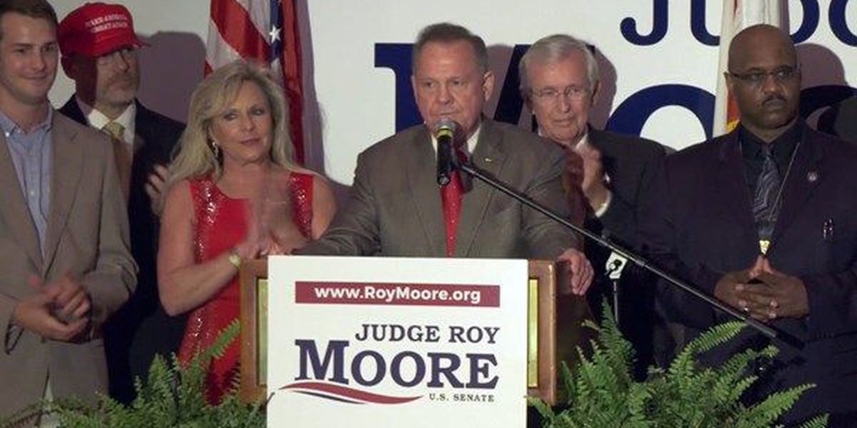 Alabama GOP releases statement supporting Roy Moore