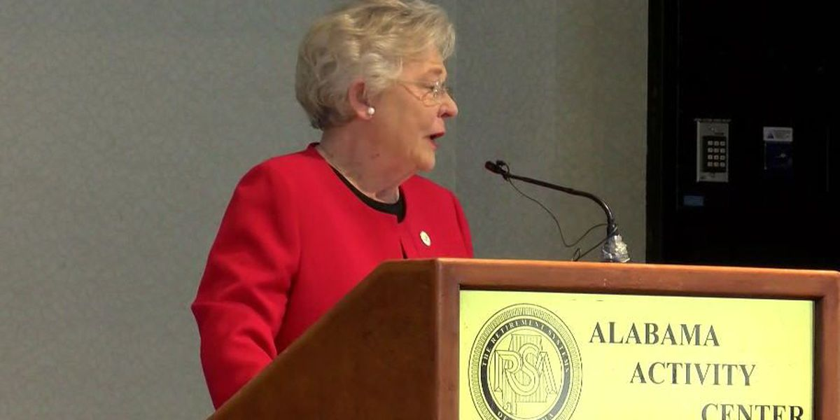Ivey praises F-35, unemployment numbers in Montgomery
