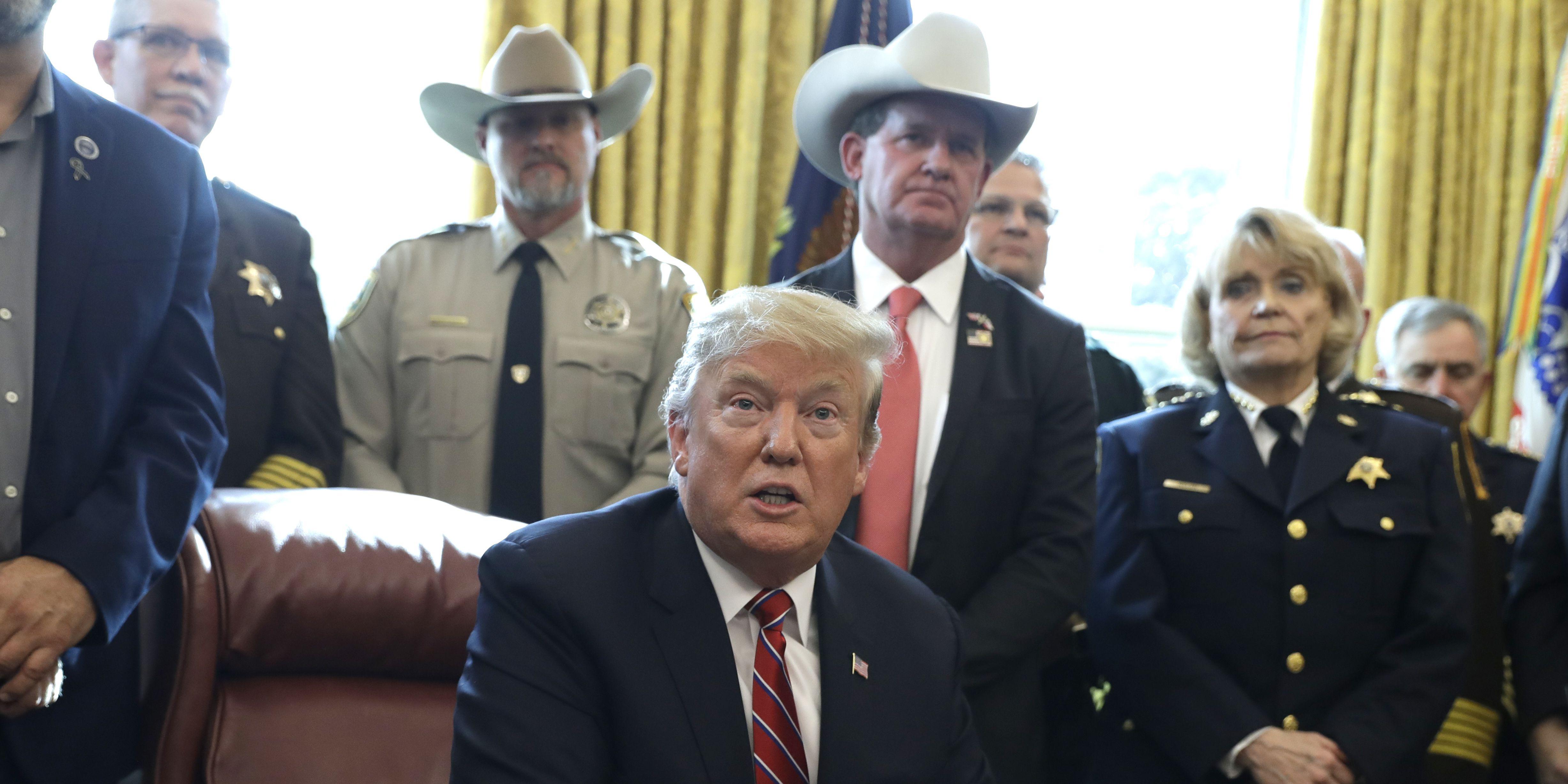 Trump downplays white nationalism threat after New Zealand massacre