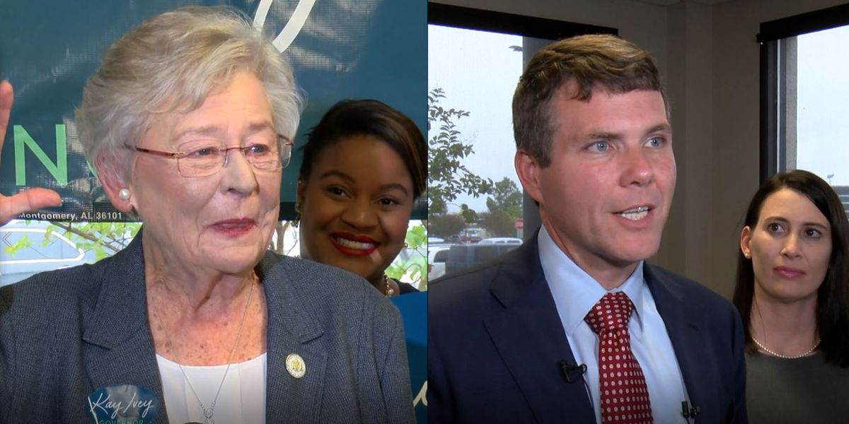Candidates for AL governor give their last pitch to voters