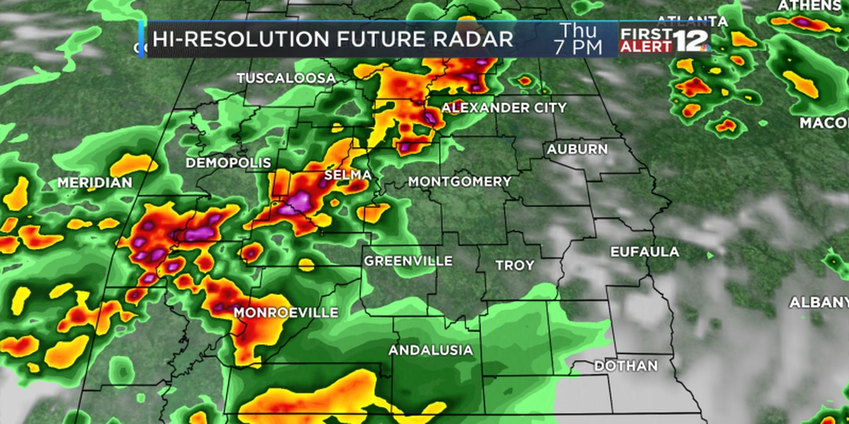 Eric: Strong storms possible later Thursday