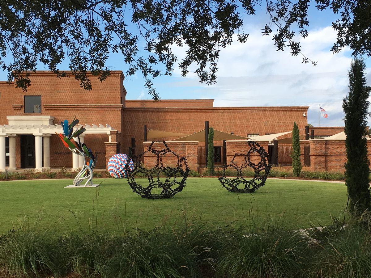 montgomery museum of fine arts to open john and joyce caddell sculpture garden - Olive Garden Montgomery Al