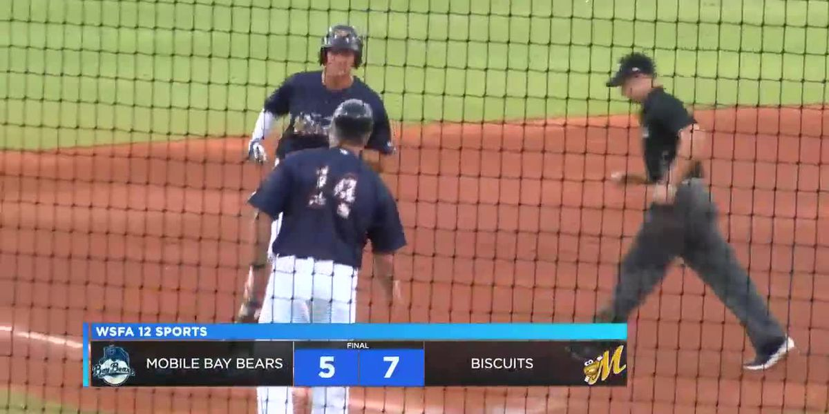 Biscuits beat Baybears on Military Appreciation Night