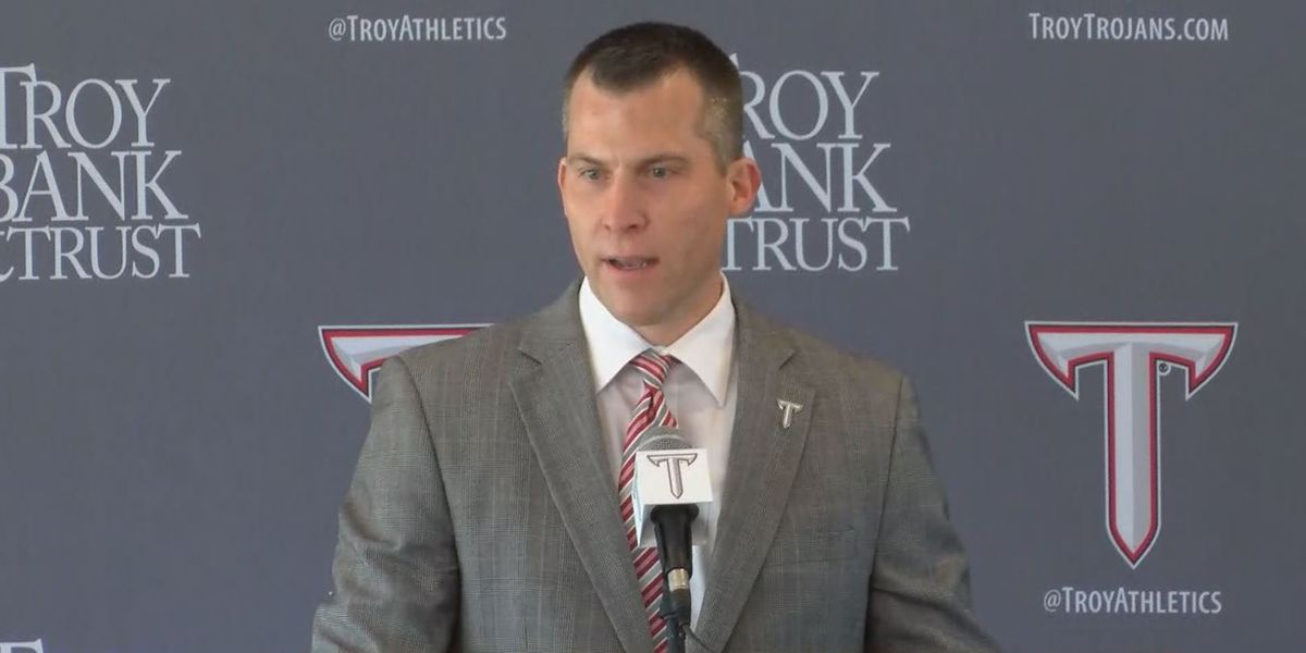 Scott Cross introduced as Troy's head men's basketball coach