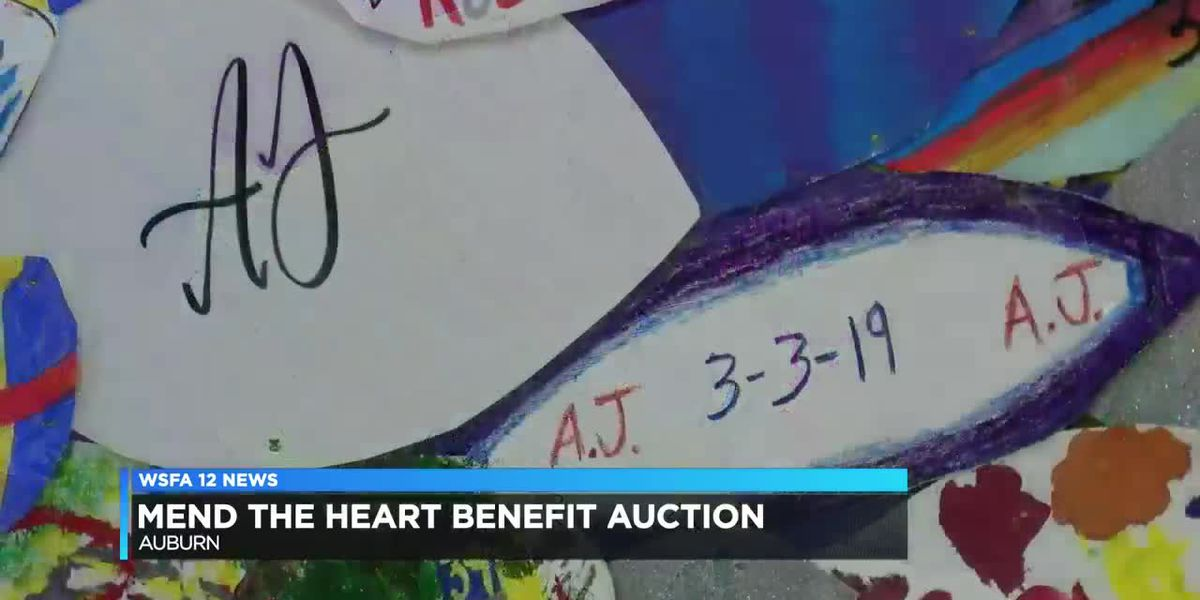 Mend the Heart Benefit auction held for Beauregard community