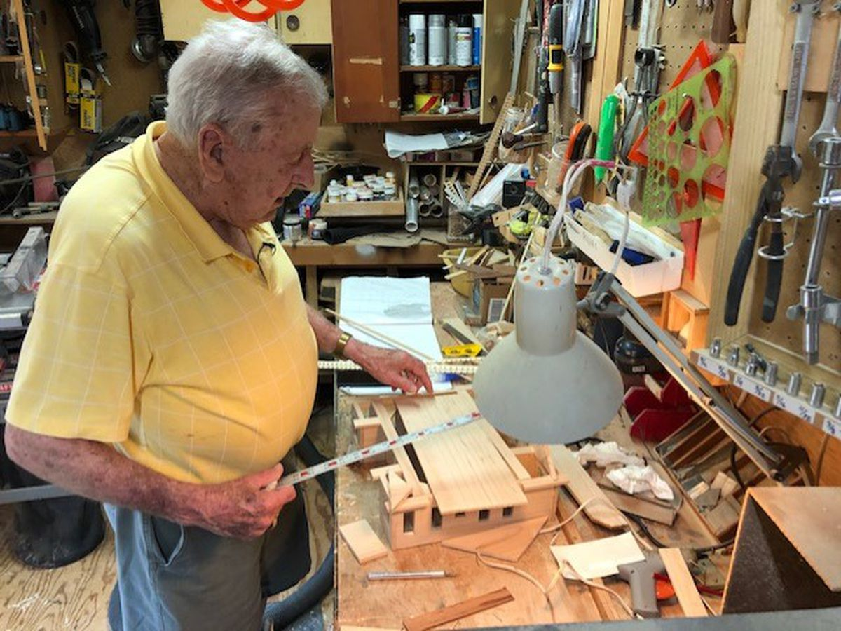 County Road 12: Montgomery man makes birdhouses look like real homes