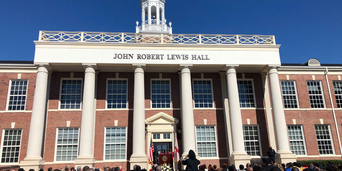 Troy University officially renames signature building for late Rep. John Lewis