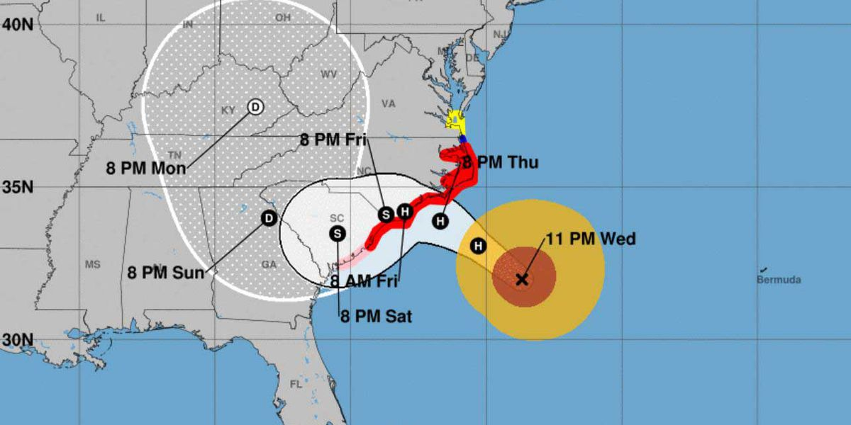 Hurricane Florence looms over East Coast — WHAT'S HAPPENING