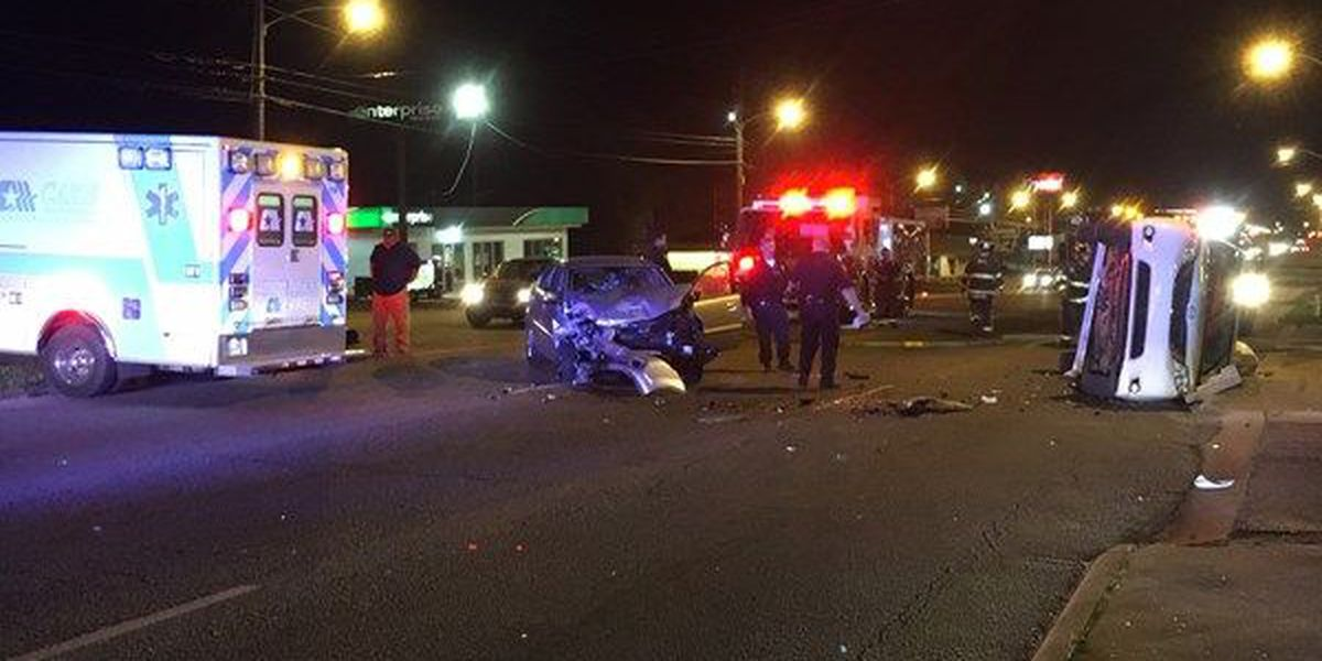 MPD, Medics respond to two-vehicle crash on Atlanta Highway