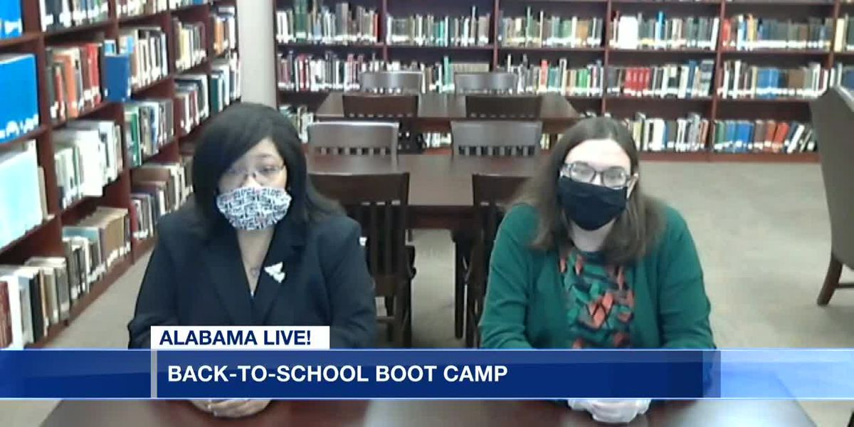 Montgomery City County Public Library: Back to school boot camp