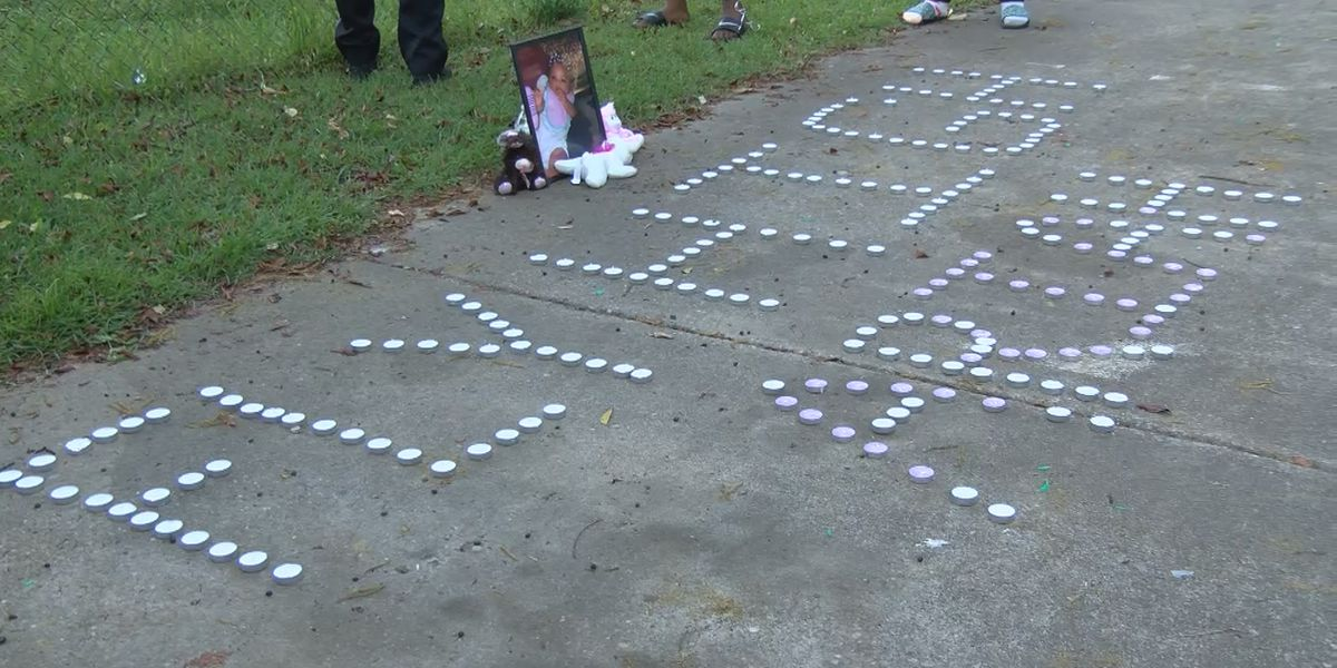 Vigil held for 6-month-old beaten to death