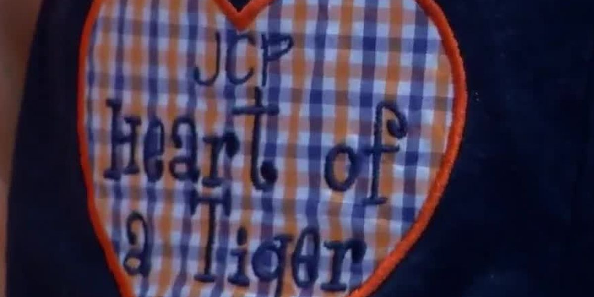 Two families held together by 4-year-old with heart transplant attend LSU and Auburn football game