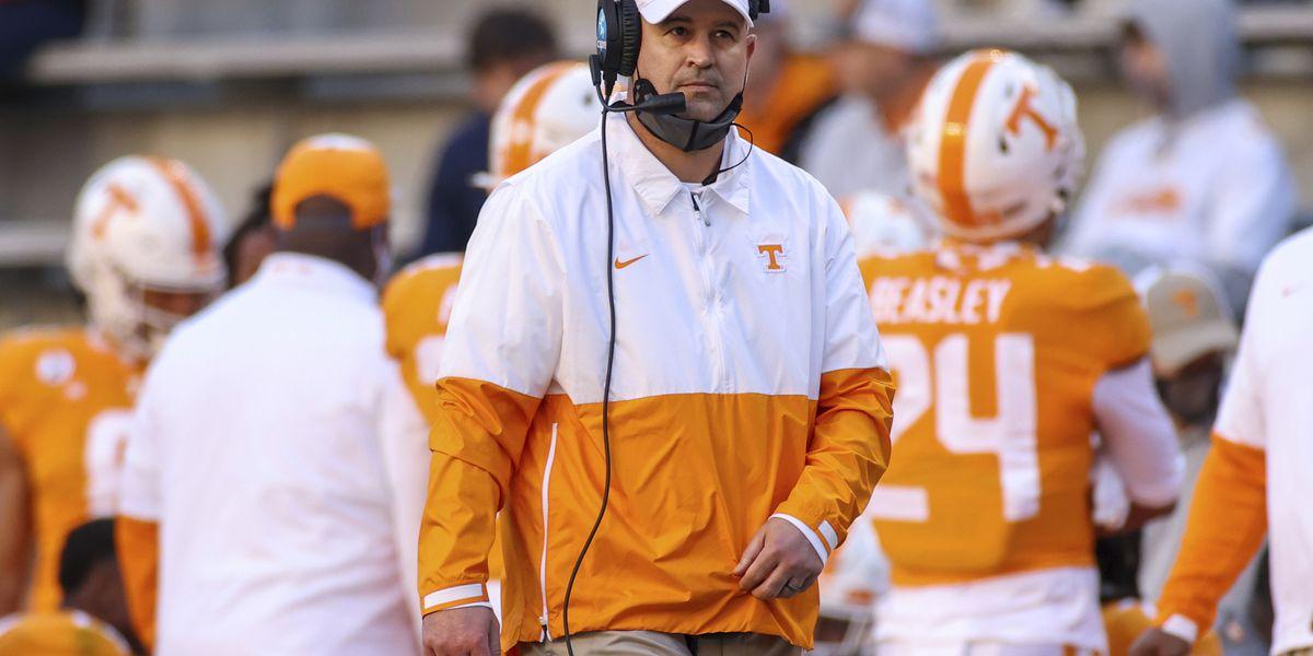 Jeremy Pruitt fired as Tennessee head football coach