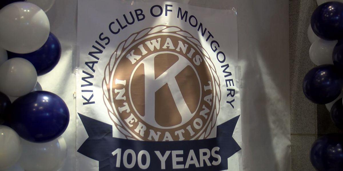 Kiwanis Club of Montgomery celebrating 100th anniversary
