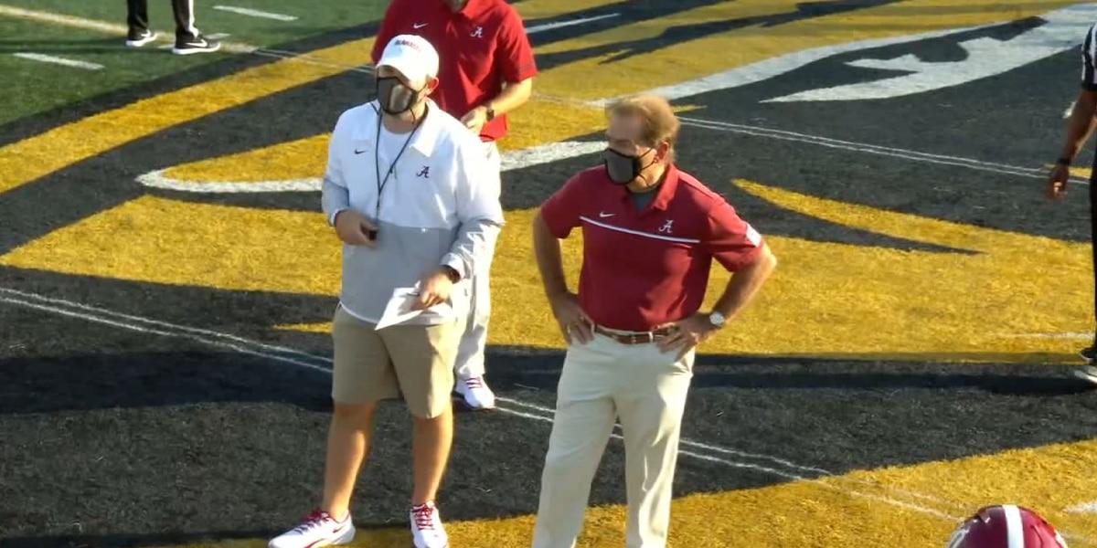 Concerns over false positive test for coach Nick Saban