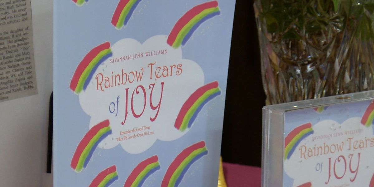 10-year-old's book inspiring others who experience loss