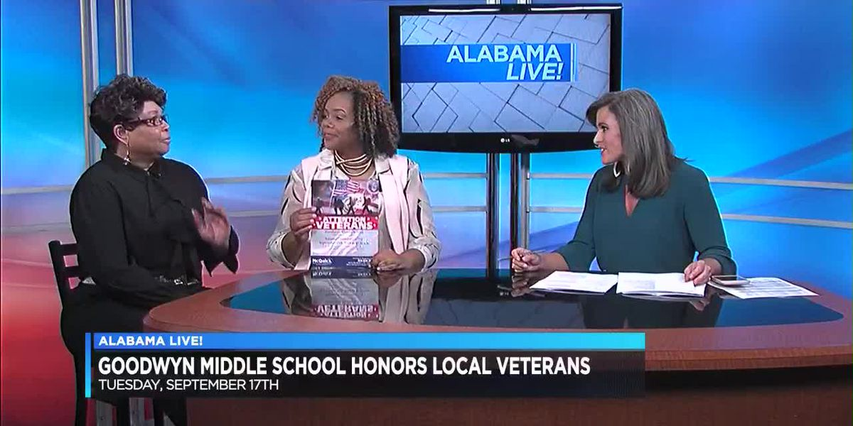 Goodwyn Middle School to honor local veterans