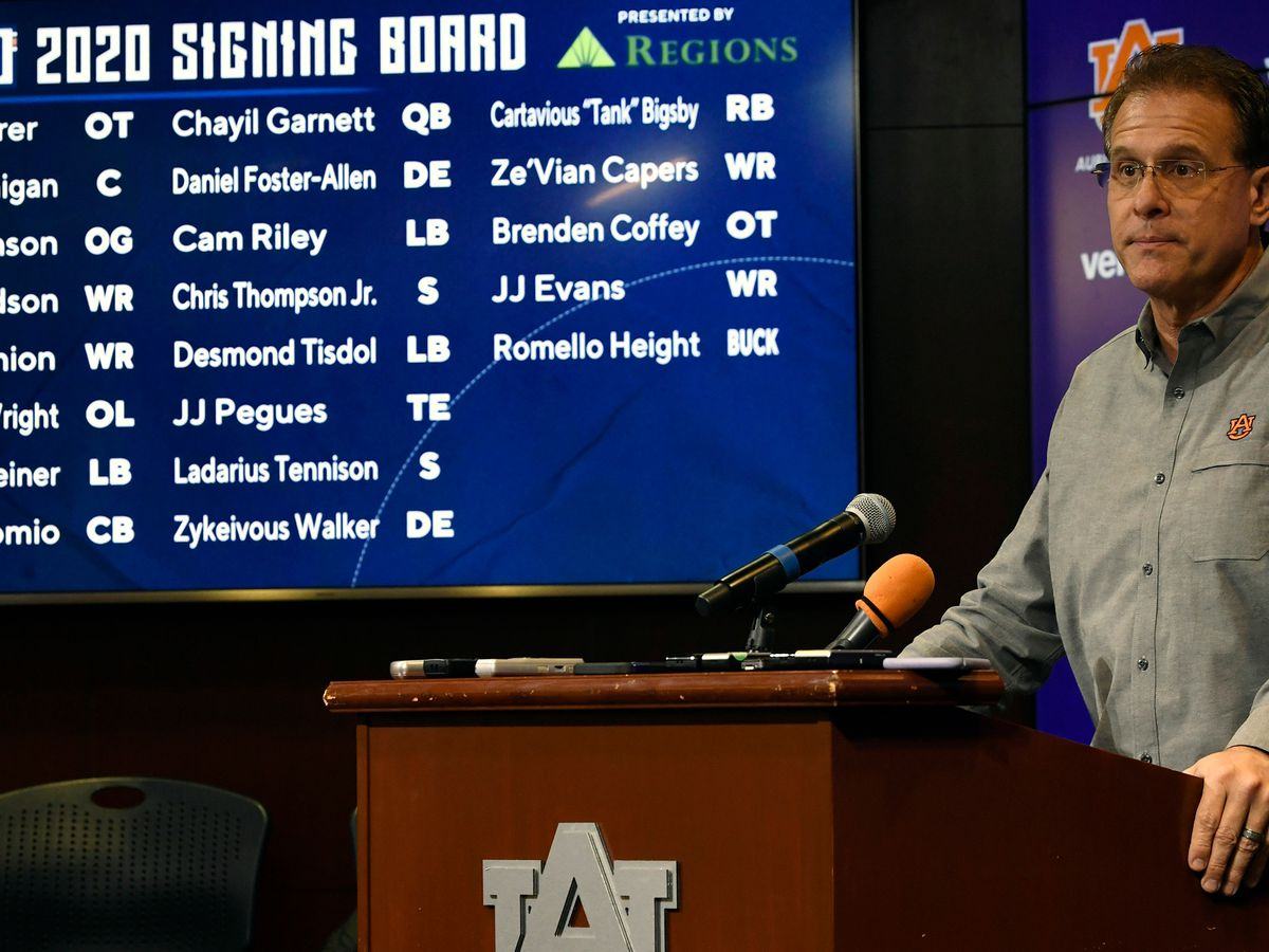 Over 20 sign with Auburn during early signing period