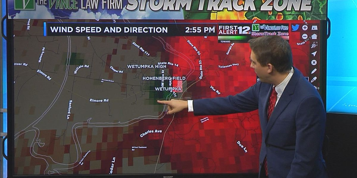 WSFA meteorologists pinpoint Wetumpka tornado using Baron
